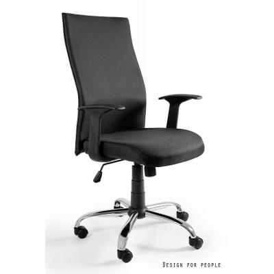 Fotel Biurowy BLACK ON BLACK UNIQUE-W-93A