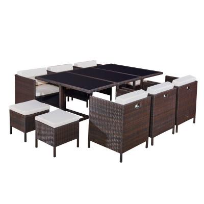 Zestaw stołowy CRISTALLO GRANDE Bello Giardino